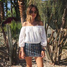58 Stunning Summer Street Style Visible Inspires You – recipesideas. Boho Fashion, Girl Fashion, Autumn Fashion, Fashion Looks, Fashion Outfits, Womens Fashion, Embellished Skirt, Dressy Skirts, Stunning Summer