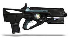 Fusion Rifle from Destiny