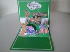 Biglietto di Pasqua pop up