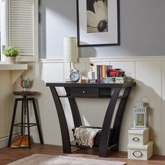 Furniture of America Shinway Modern Console Table - 15437396 - Overstock - Great Deals on Furniture of America Coffee, Sofa & End Tables - Mobile
