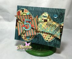 Happy Birthday Card by: Donna Idlet
