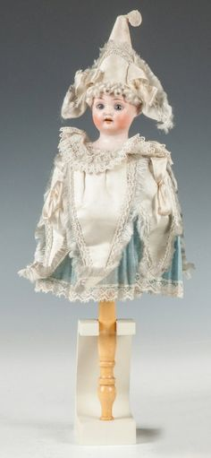 German Musical Bisque Marrotte Doll : Lot 25