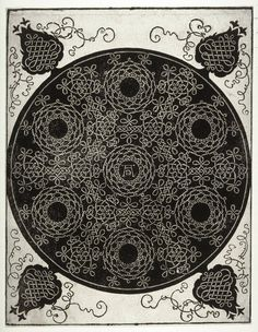 Albrecht Durer c. 1507 Pattern from the Series of Six Knots 1-3