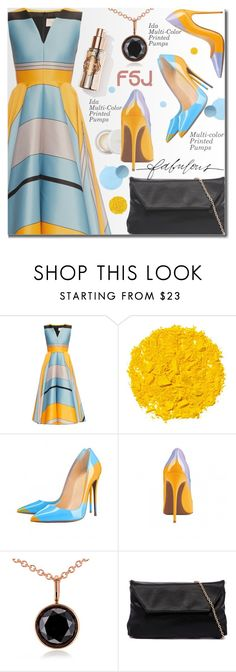 """""""FSJShoes.com"""" by beebeely-look ❤ liked on Polyvore featuring Roksanda, Illamasqua, Kobelli, Stella & Dot, Pumps, Heels, shoes, classy and fsjshoes"""