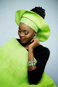 Check out This #Gele #Styles  More Styles here >>http://www.dezangozone.com/2015/04/check-out-this-gele-styles.html