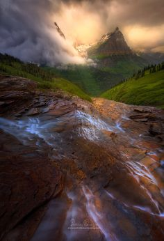 Moodyscape, Glacier National Park USA by Patrick Marson Ong on 500px
