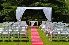 Decoración de casamiento de dia por Ramiro Arzuaga