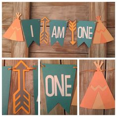 Bohemian Tribal High Chair Banner Indian by EricasCrafties