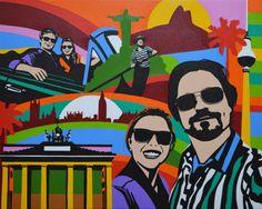 LOBO Por Art #lobopopart #artistabrasileiro #paintings #fineart #popart
