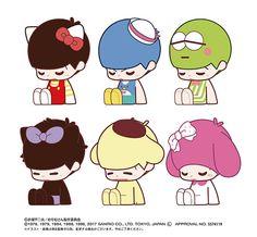 AmiAmi [Character & Hobby Shop] | Osomatsu-san x SANRIO CHARACTERS - UTATANE Collection 6Pack BOX(Pre-order)