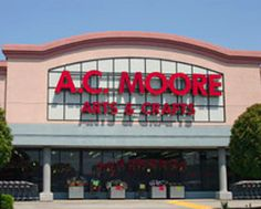 A.C. Moore: 40% Off Any Regular Price Item Coupon