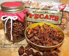 Cooking With Mary and Friends: Spiced Pecans