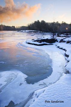 Wisconsin River near Stevens Point, Wisconsin
