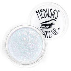 Glitter eyeshadow, glitter powder and glitter adhesive