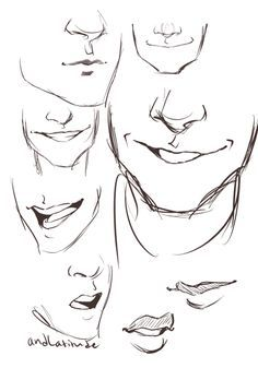 Man mouth smile drawing, drawing men face, drawing face expressions, cartoon drawings of Smile Drawing, Guy Drawing, Drawing People, Drawing Tips, Drawing Sketches, Art Drawings, Drawing Ideas, Sketching, Drawing Tutorials