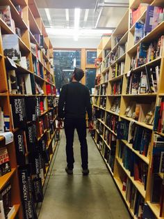 Powell's books Portland OR - instagram @megan.bos