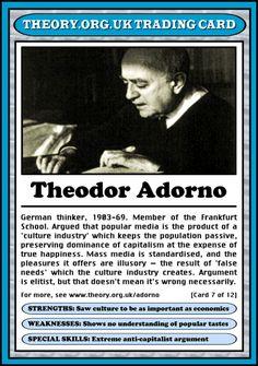 Theodor W. Adorno (1
