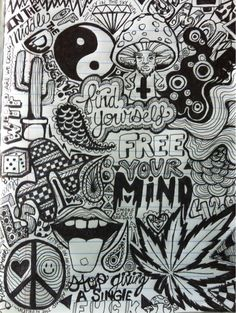 Try to do this with your life every thing you believe in or love draw on a paper