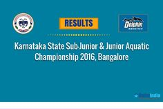 Day 1 Results of Karnataka State Sub-Junior & Junior Aquatic Championship 2016, Bangalore  New State Record Created by Sanjay.C.J for Boys, 800m Freestyle (8:43.88)  Stay Tuned to #SwimIndia for Results of Upcoming Events.