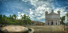 Kirche Santa Lucia Suchitoto, #ElSalvador, #Mittelamerika