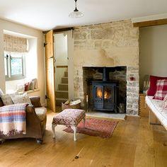 Rustic family living room | Family living room design ideas | PHOTO GALLERY | Housetohome.co.uk