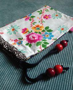 zonnebril, of make-up tasje LoveBirds - Handgemaakte tassen, cases, hoesjes en nog veel meer creativiteit