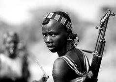 Hamer girl with gun - Omo Ethiopia | Flickr - Photo Sharing!