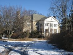 A reform school for delinquent girls, sent there by the courts of Pennsylvania in an attempt to rehabilitate them.  closed in 2001. Along Crum Creek: Sleighton Farm School for Girls