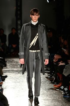 5351 POUR LES HOMMESunveiled its Fall/Winter2015 collectionduringMercedes-Benz Fashion Week Tokyo.