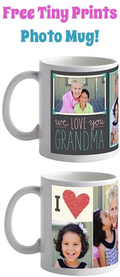 FREE Tiny Prints Photo Mug! {just pay shipping} ~ these make the BEST personalized gifts to stash away!!