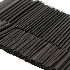 127pcs/set Black 2:1 Heat Shrink Tube Assortment Wrap Electrical Insulation Cable Tubing Polyolefin Best Promotion!!