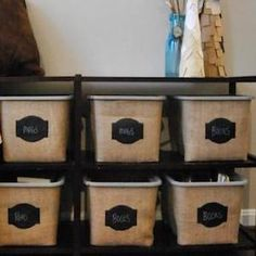 200 DIY Dollar Store Organization and Storage Ideas - Prudent Penny Pincher Fabric Storage, Storage Bins, Diy Storage, Storage Ideas, Diy Home Decor Projects, Easy Home Decor, Decor Ideas, Decorating Ideas, Room Ideas