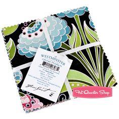 Garden Divas Charm Pack  Jane A Sassaman for Free Spirit Fabrics
