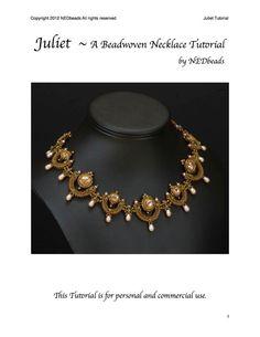 Juliet  A Beadweaving Tutorial by NEDbeads on Etsy