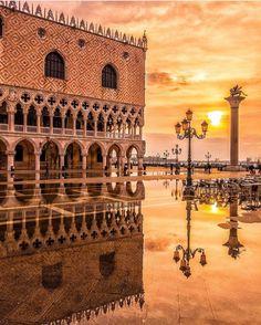 Sunset. Venice, Italy.