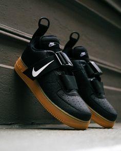 sports shoes 4fe4d fa92f Air Force 1, Nike Air Force, Black Gums, Nike Af1, Sneakers Nike