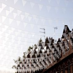 Designer Philippe Malouin explains why he hung transparent bunting above the street in the next of our Seven Designers for Seven Dials movies about the aerial installations