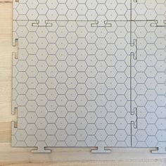 Patron made a series of interconnected table top hex grid mods. #jocomakes