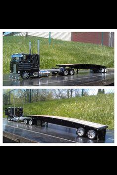 Model Flatbed Truck.