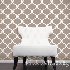 String Net White | Cafe Removable WallPaper | Pinknbluebaby