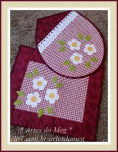 Conjunto lav abo confeccionado com tecidos 100% algodão.    * As cores e aplicações podem variar de acordo com o gosto do cliente.