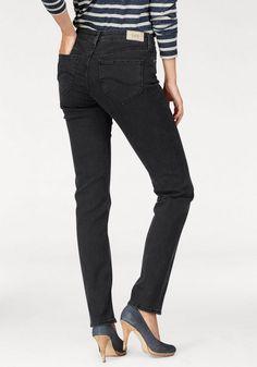 Lee® Stretch-Jeans »MARION«, Straight Fit ab 80,95€. 5-Pocket-Style, Perfekte Passform durch Elasthan Anteil, Gerader Beinverlauf bei OTTO