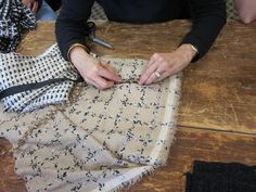 Frabjous Couture: Classic French Jacket Class: Day 2