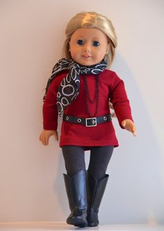 18 inch American Girl Doll Clothing. Active wear by Simply18Inches