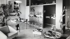 Gio Ponti's Residence in Via Dezza, image courtesy of and copyright Gio Ponti Archives.
