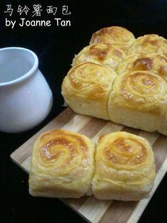 Joanne's Kitchen: 超柔软的马铃薯面包 potato bun(直接法)