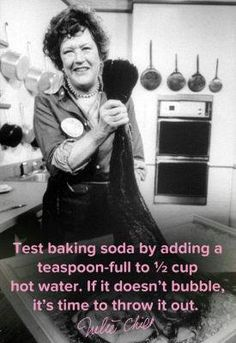 This is a cool kitchen tip. #oldbakingsoda More