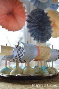 Sail boat cake pops!!!