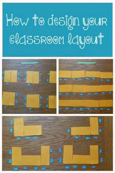 Classroom layout has such a big impact on the students' experiences and learning in the classroom. Here are some the things I took into consideration when planning my classroom set up, along with the different arrangements and their pros and cons.
