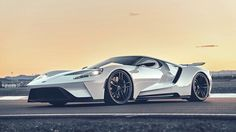 2017 Ford GT, Frozen White